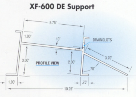 Drift Eliminator XF600 Supports