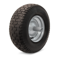 Long lasting wheelbarrow tires