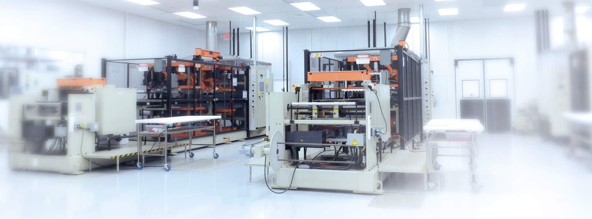 Thermoforming Machines in Clean Room