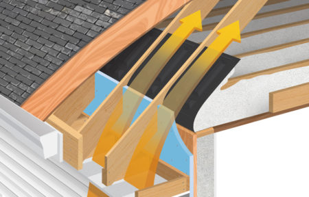 Accuvent roof ventilation system brentwood industries for How to improve airflow in vents