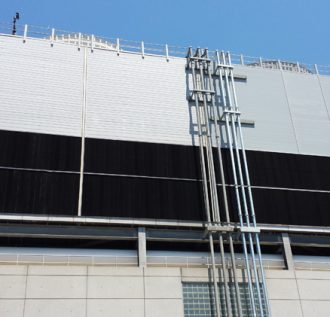 Air Inlet Louvers in Cooling Tower