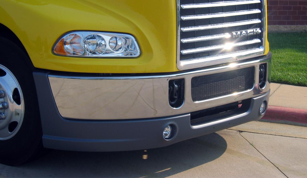 Plastic Truck Bumper