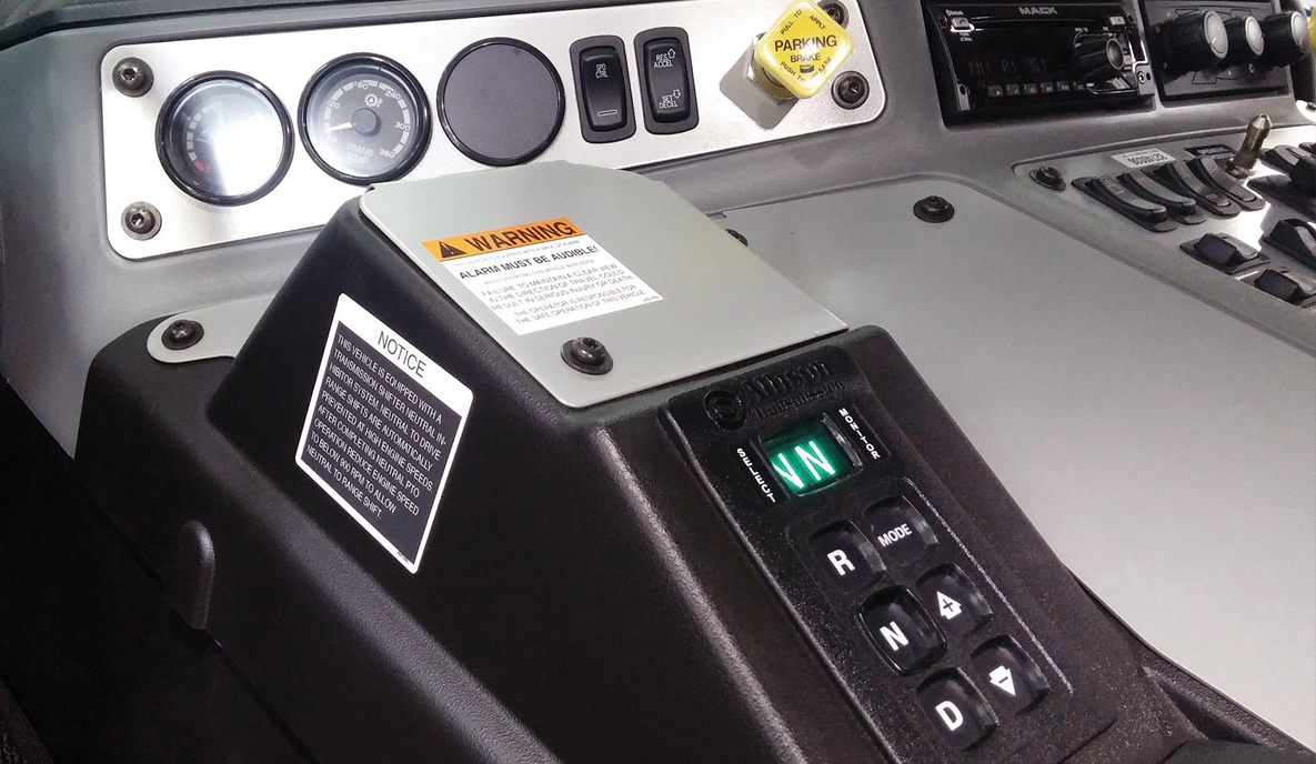 Center Console for Garbage Truck