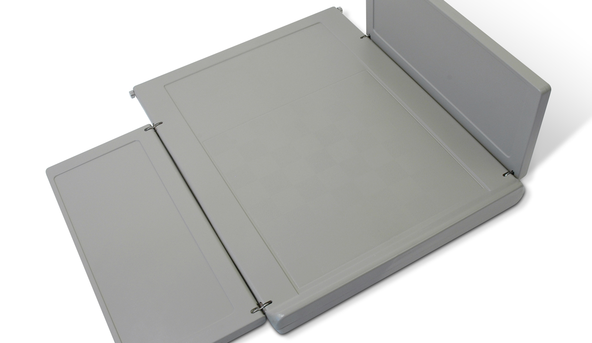 Plastic Tray Table for Railcar