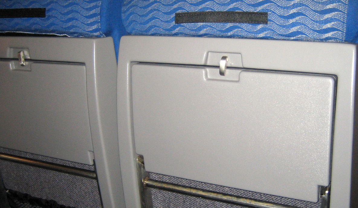 Plastic Tray Table for the Rail Industry
