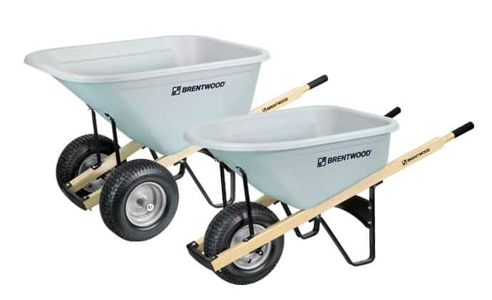 Landscaping wheelbarrow