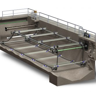 Rectangular clarifier systems
