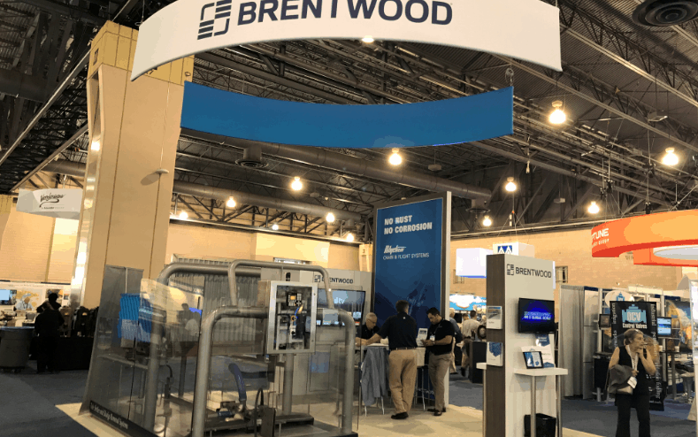 Brentwood booth at ACE 2017