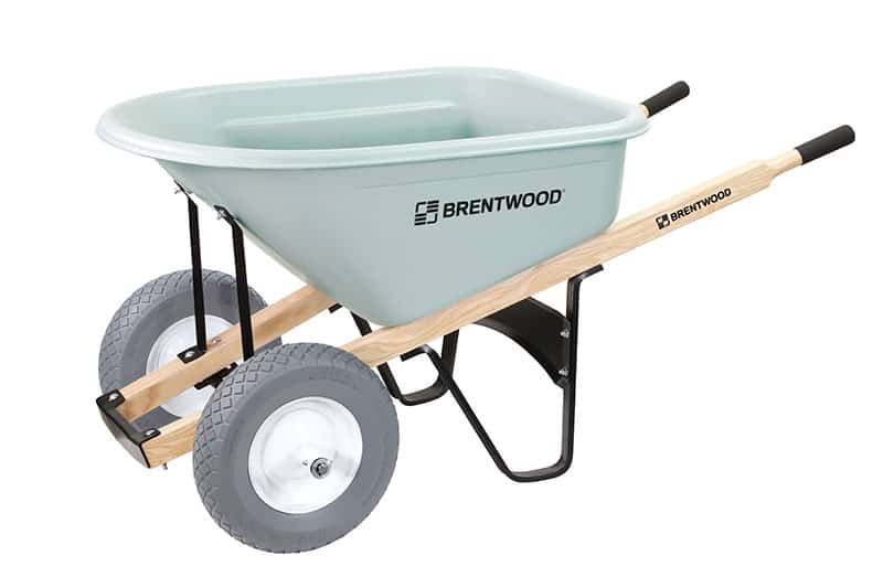 brentwood wheelbarrow with two wheels