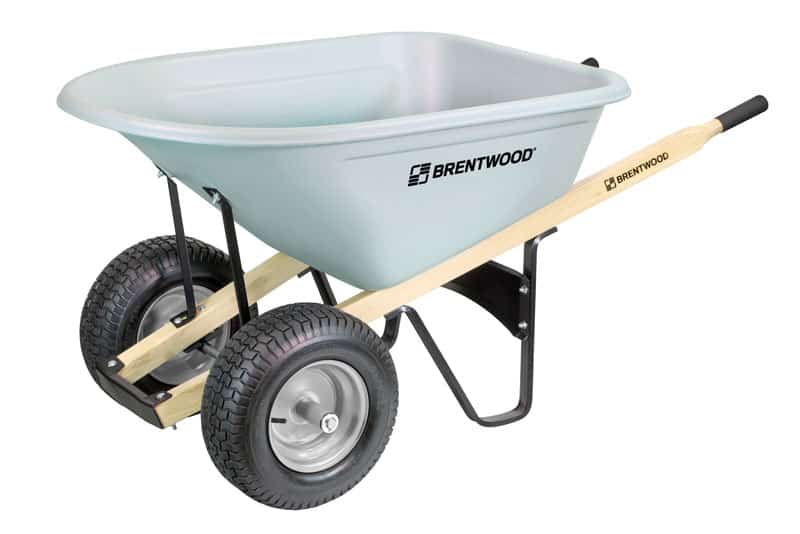 brentwood wheelbarrow with turf tires