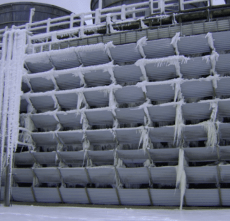 Water Management and Winter Operation of Cooling Towers