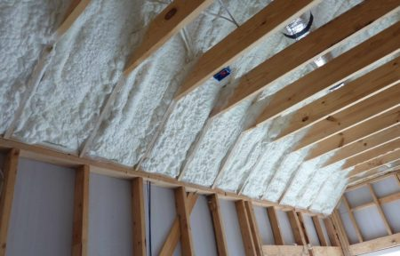 Spray Foam Attic Installation