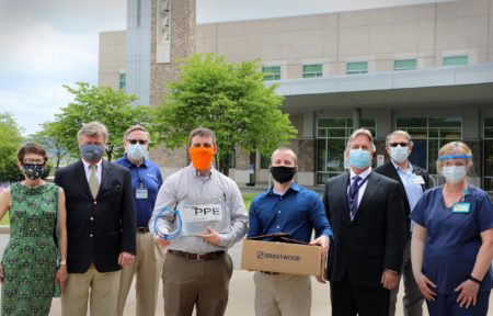 St. Joe's Face Shield Donation